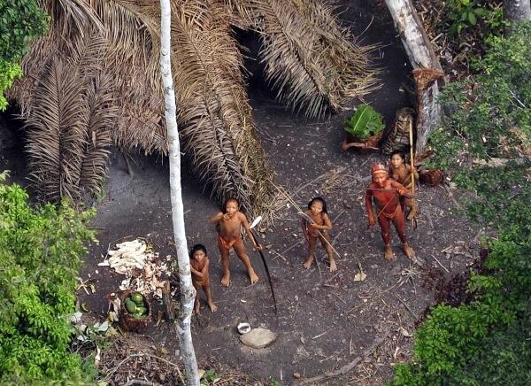 Племя в Индии убило туриста