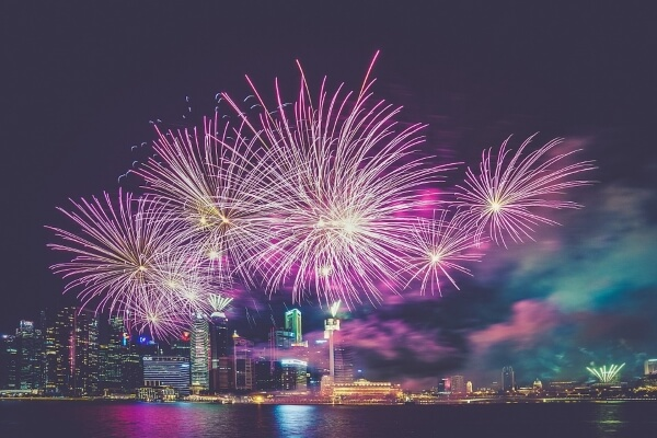 Список стран для Нового года