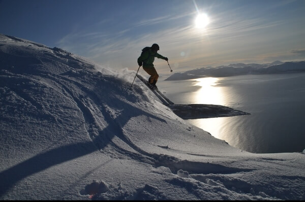 В Норвегии открылся горнолыжный курорт
