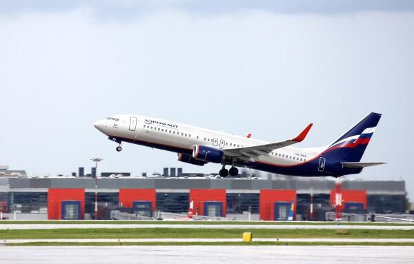 Самолет «Аэрофлота» совершил незапланированную посадку в красноярском аэропорту