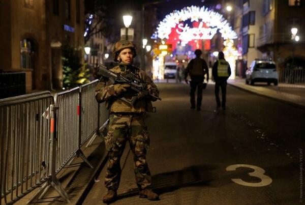 Во Франции ищут стрелка