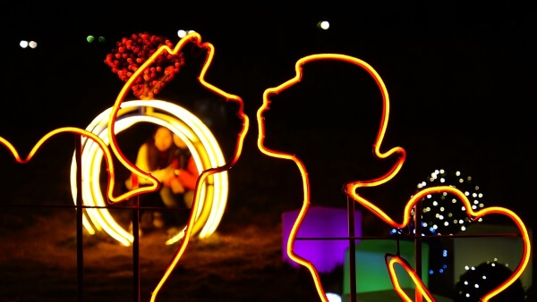 Фестиваль света в Дании