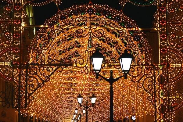 Москва в Новый год