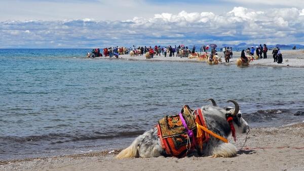 Тибет испытывает туристический бум