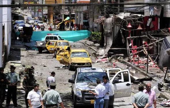 В Колумбии прогремел взрыв