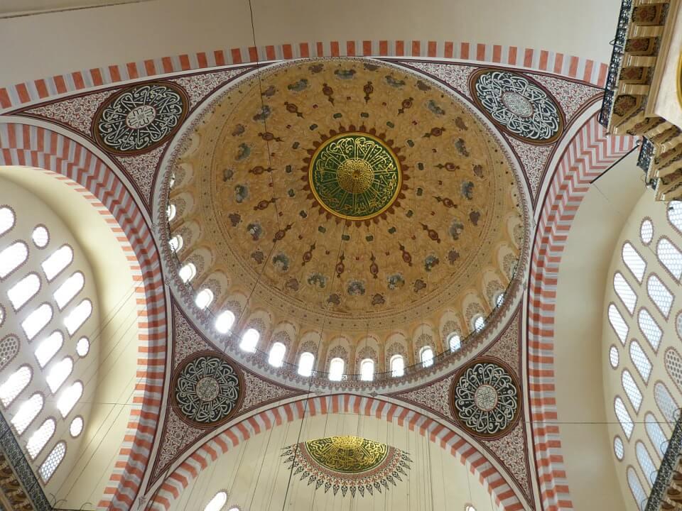 Роспись купола в Стамбуле
