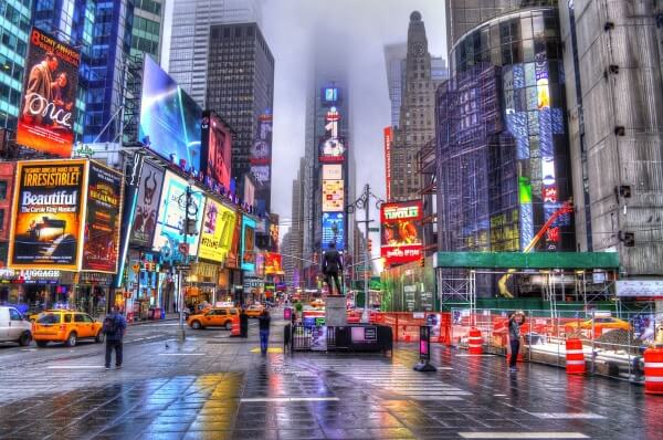 Администрация Нью-Йорка вводит сбор за въезд в центр мегаполиса