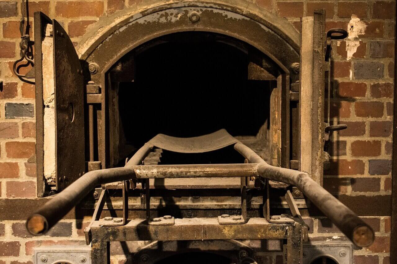Печь для сжигания в концентрационном лагере Дахау