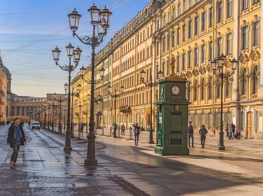 Малая Конюшенная улица, фотограф Игорь Байгуз