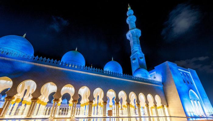 Мечеть шейха Зайда – мировое религиозное сооружение в Абу-Даби