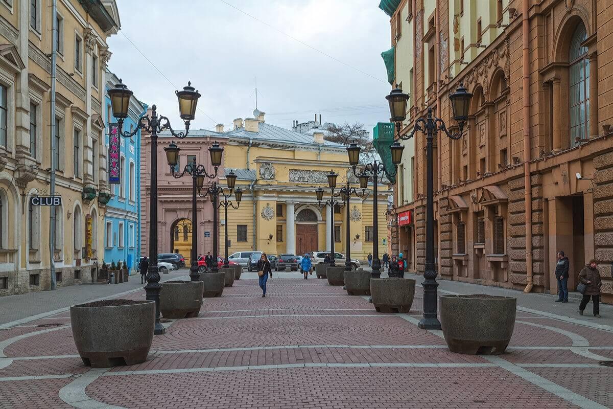 Санкт-Петербург, Малая Садовая улица