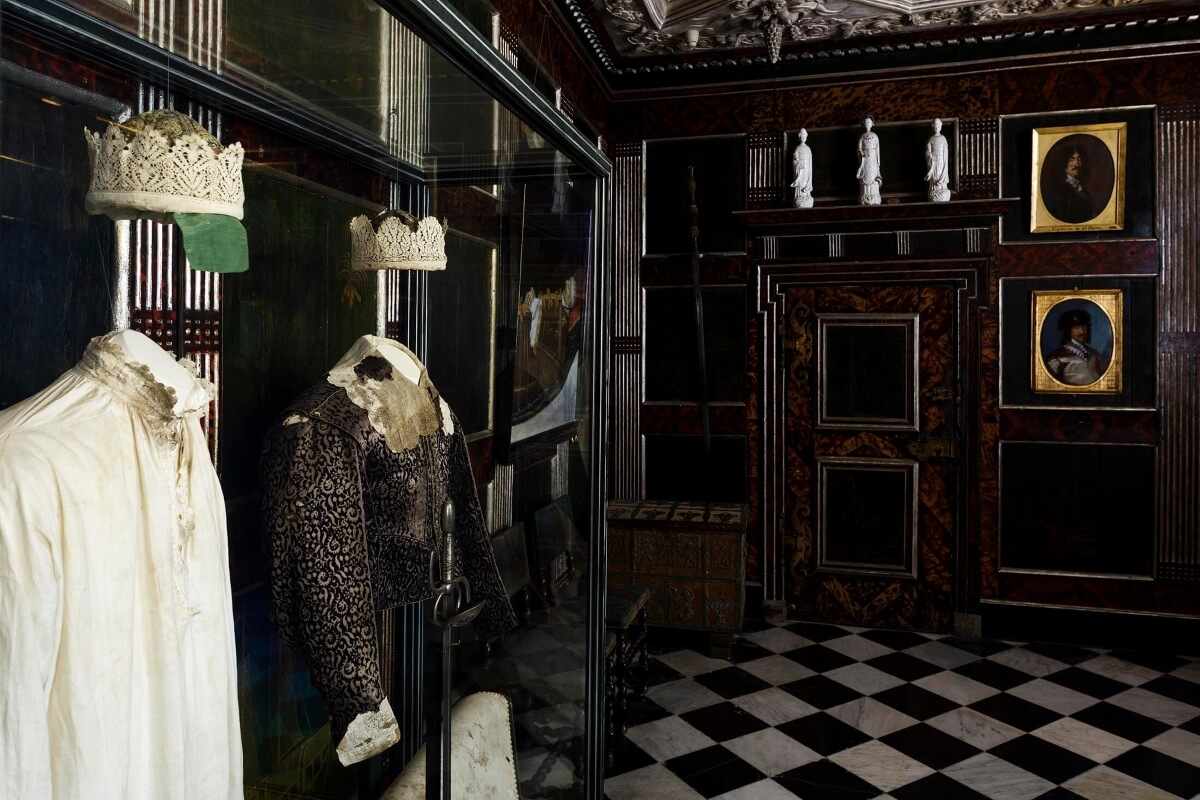Спальня Кристиана IV