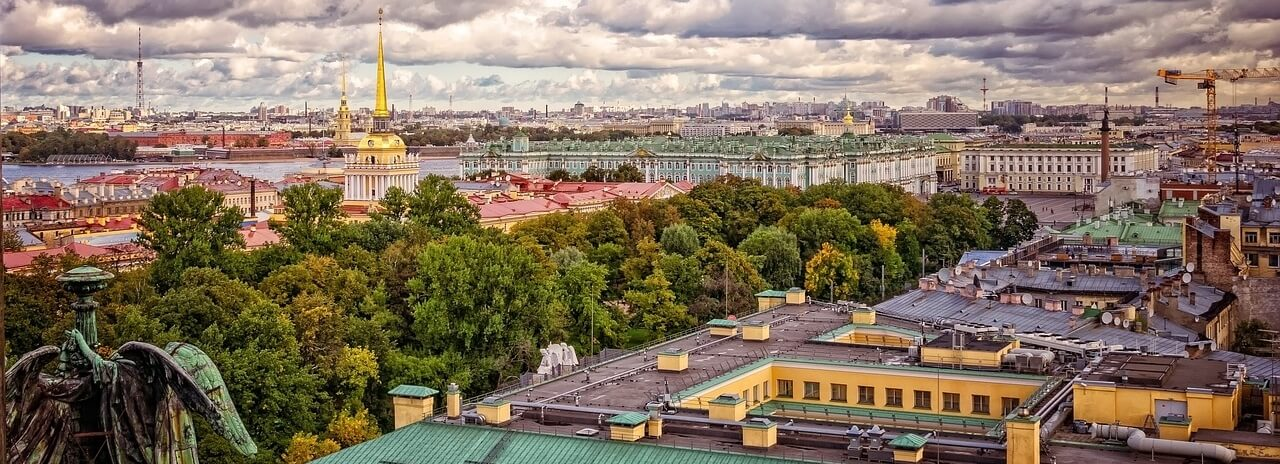 Топ пешеходных улиц Санкт-Петербурга