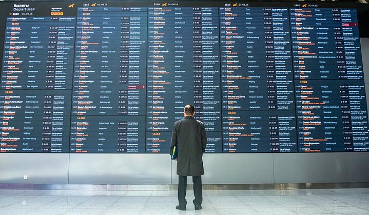 В Шереметьево проблемы с вылетами и отмены рейсов из-за ЧП