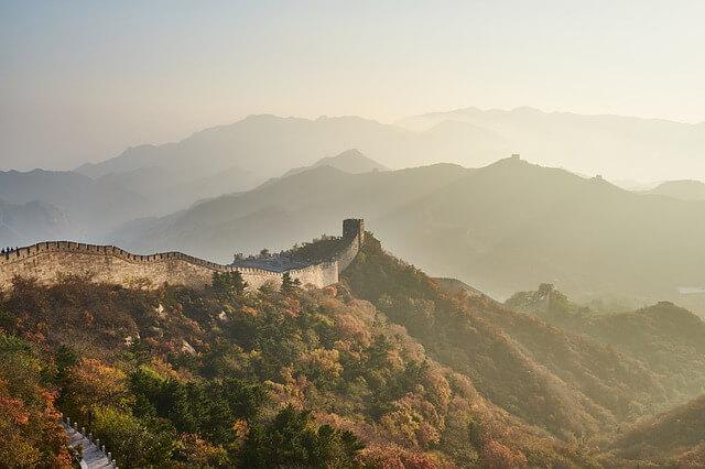 Вход на Великую Китайскую стену строго ограничен