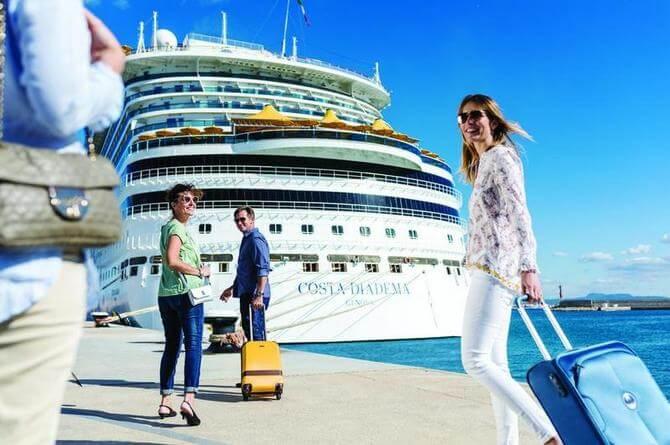 Costa Cruises презентовала лайнер нового поколения