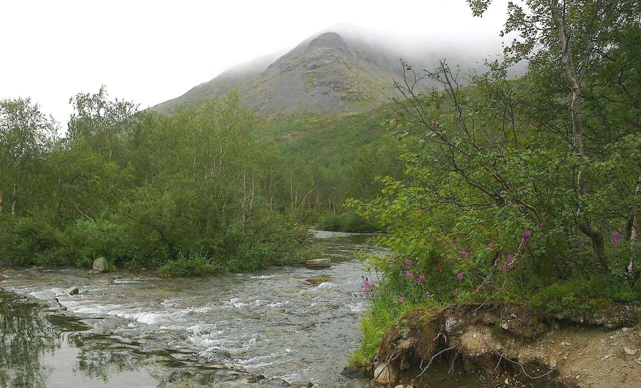 Хибины в Кольском крае