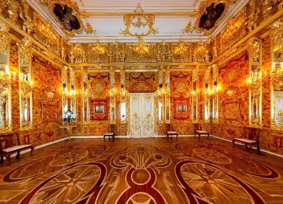 Названы новые предположения о местонахождении Янтарной комнаты