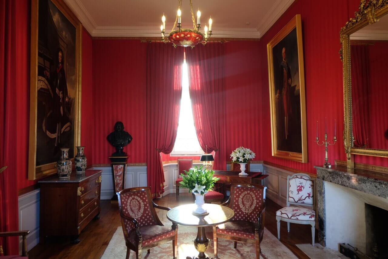 Одна из комнат в замке Амбуаз