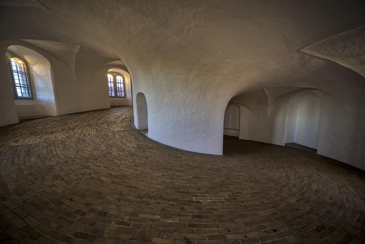 Пандус в Круглой башне