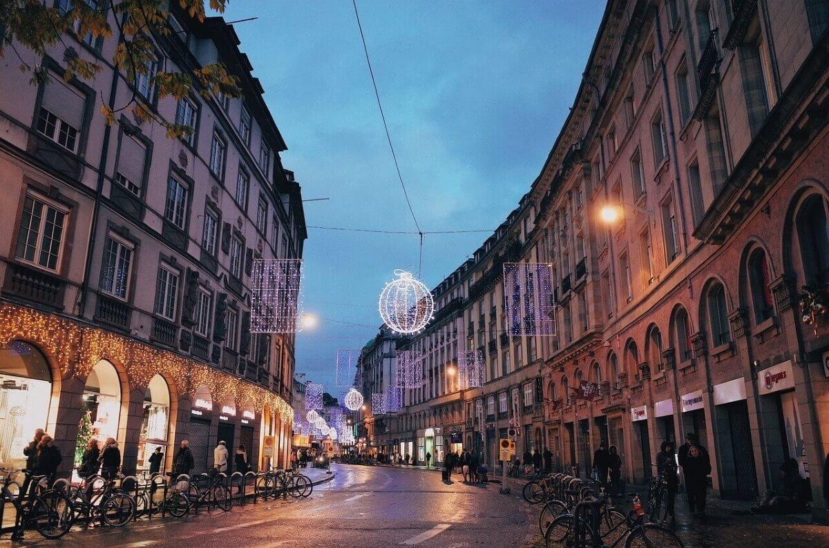 Прогулка по вечернему Страсбургу