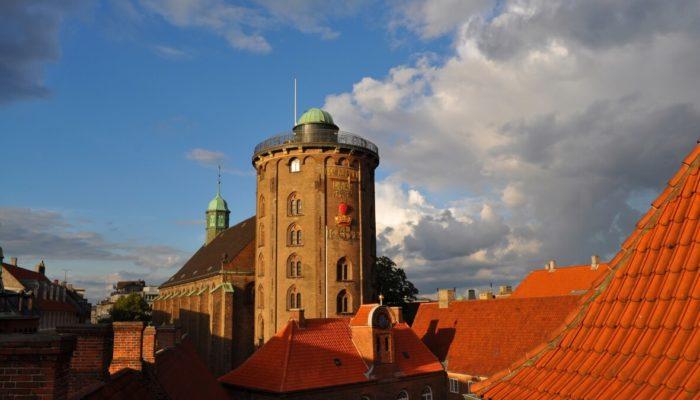 Круглая башня Копенгагена — экстравагантный символ города