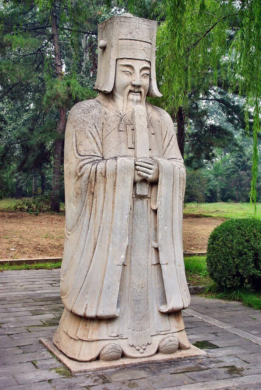 Статуя в Долине гробниц императоров династиии Мин