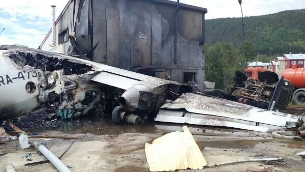 В Бурятии аварийно сел пассажирский самолет