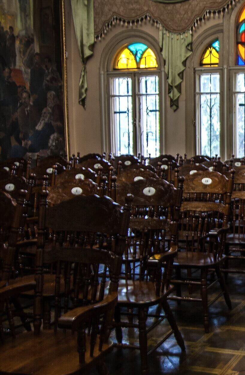 Зал в музее Шаляпина