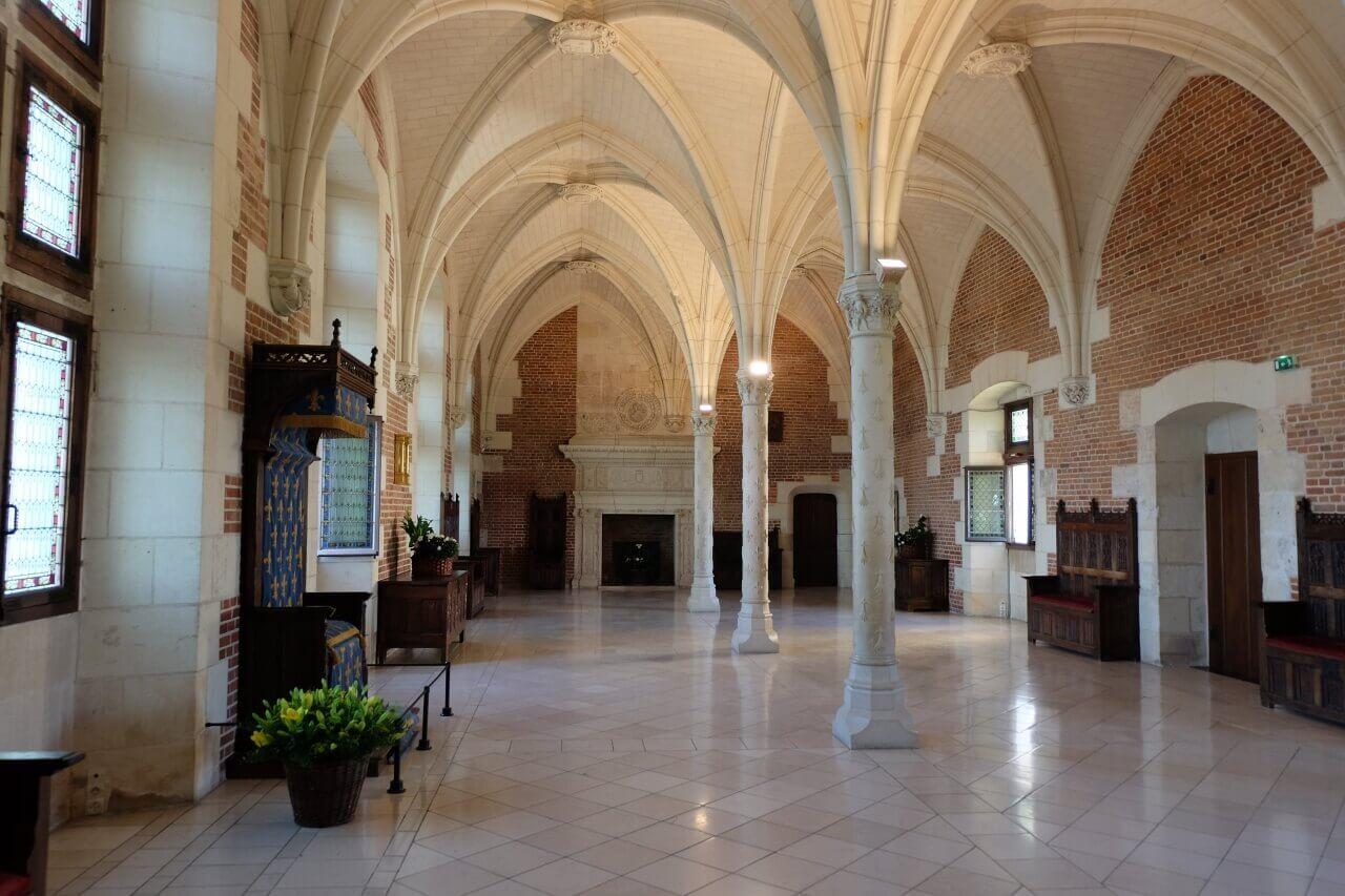 Зал в замке Амбуаз