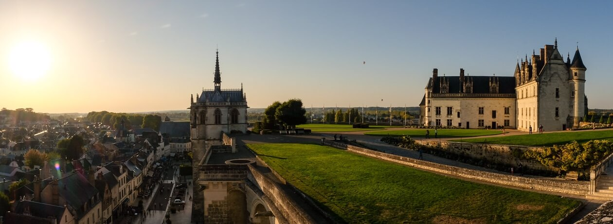 Замок Амбуаз. Фото Julien Chatelain
