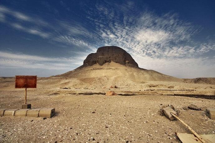 Египетская пирамида Сенусерта
