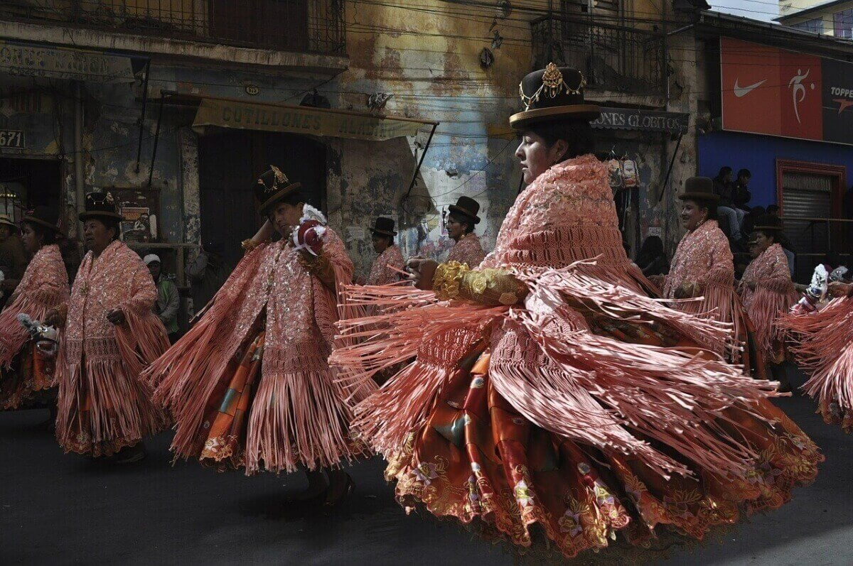 Фестиваль в Боливии