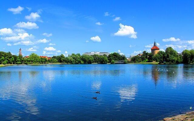 Шведский город может уже скоро уйти под воду