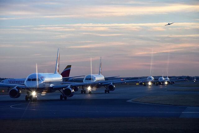 Англичане чаще летают на самолетах