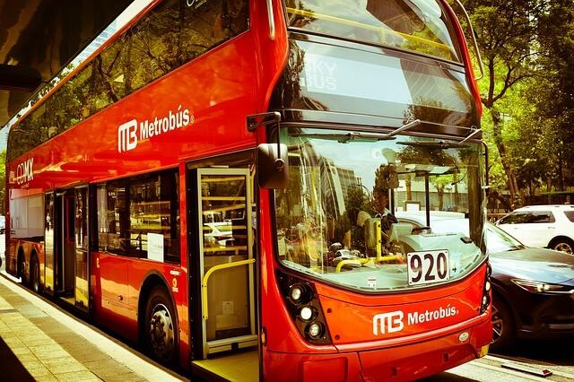 Автобус в Мексике