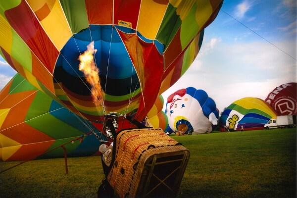 Фестиваль воздухоплавания в Феррара