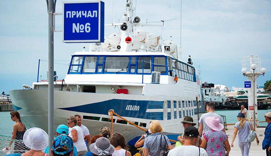 Морское сообщение между Сочи и Туапсе открыто