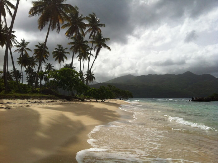 Мощный шторм движется на курорты Доминиканы