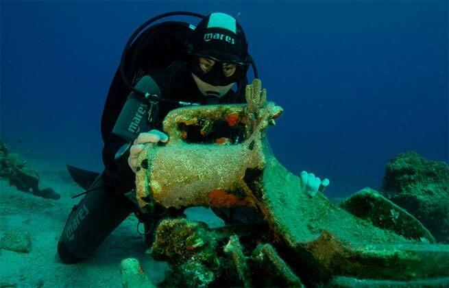 На острове Левита найдены древние корабли