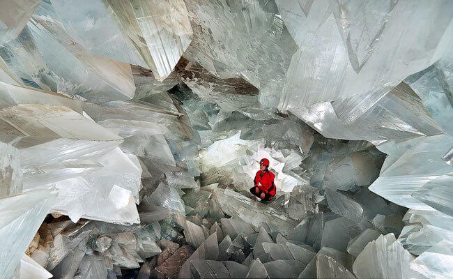 Сверкающая пещера в Андалусии
