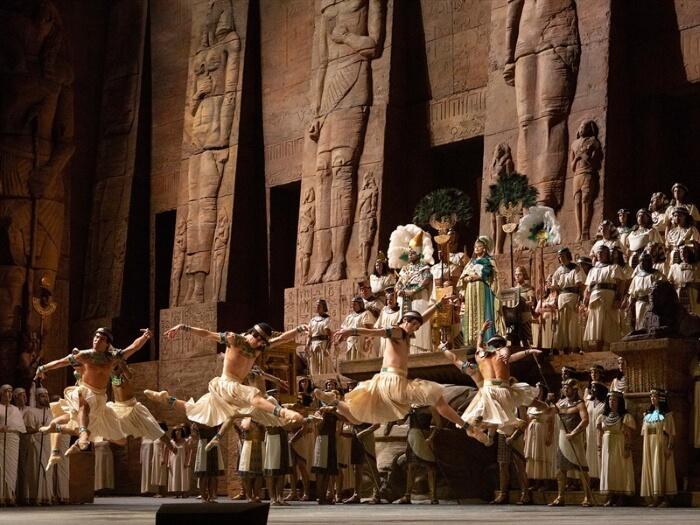 Опера «Аида» в Луксоре