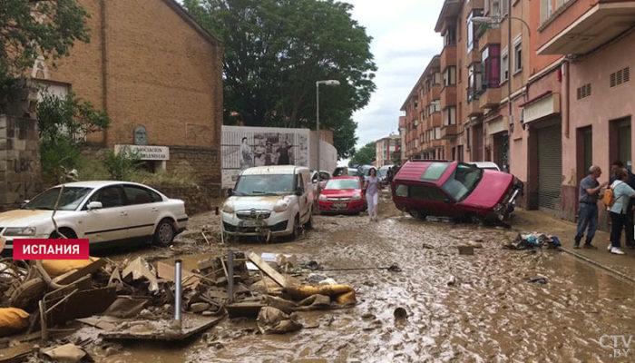 В Испании ликвидируют последствия сильнейшего шторма