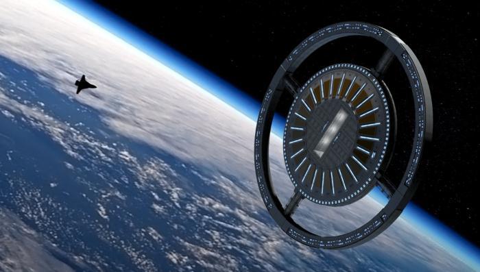 Von Braun отель в космосе