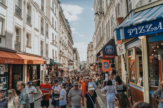 Забастовки в Париже