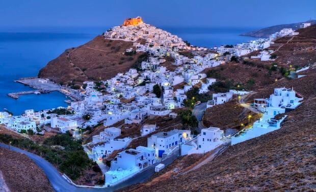 На греческом острове Астипалея полностью запрещено курение