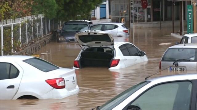 Бодрум затоплен после мощных дождей