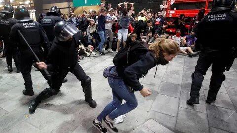 Демонстрации в Барселоне опасны для туристов