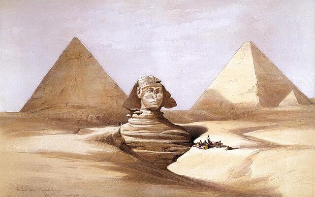 Туриста арестовали в Египте за попытку подъема на пирамиду
