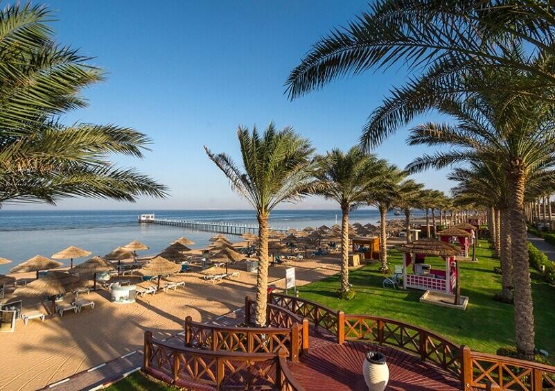 Пляж в отеле Rixos Sharm El Sheikh